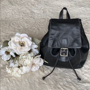 Coach Legacy Leather Drawstring Backpack